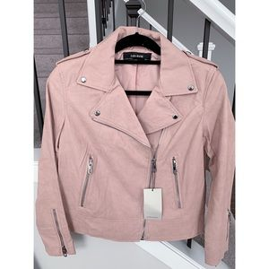 NWT Zara Leather Jacket